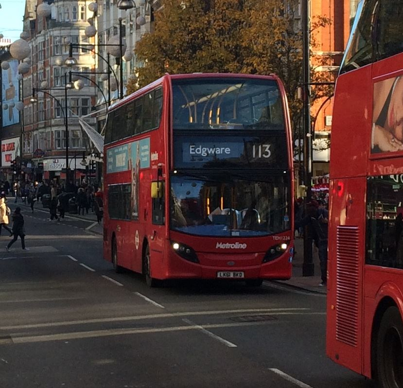 Routes  And 390 Will All Continue To Operate Along Oxford Street